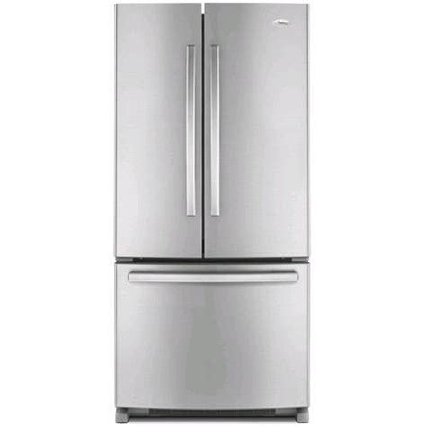 whirlpool gold refrigerator door whirlpool gx2fhdxvy gold 22 cu ft stainless steel