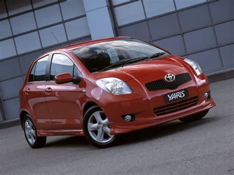 Toyota Yaris 2007 Automatic Toyota Yaris 2007 Fondos De Escritorio Wallpapers