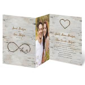 wedding invitations barn theme for infinity zfold invitation invitations by