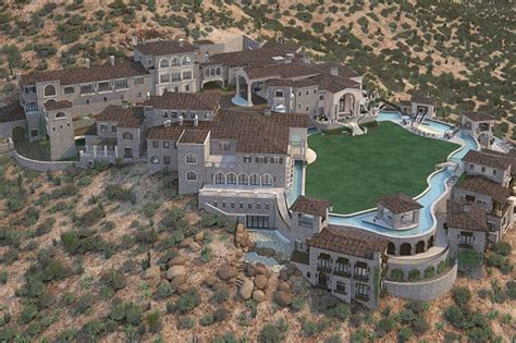 Arizona Floor Plans by Mega Mansion With Plans For Imax Cinema Bowling Alley And