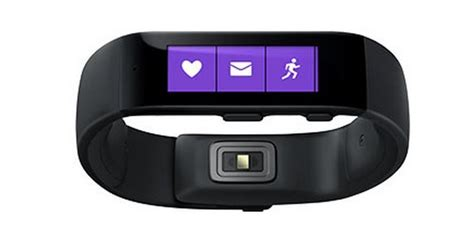 microsoft band microsoft releases 199 wearable fitness tracker