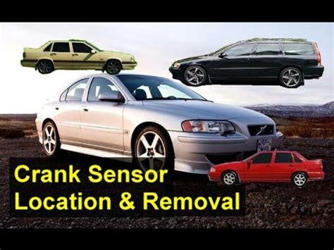 crank sensor location volvo     xc  votd youtube