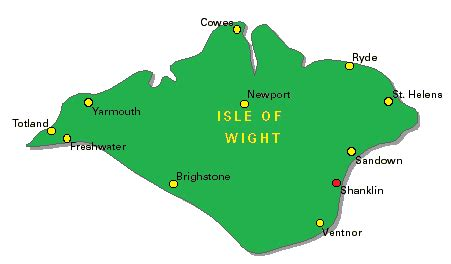printable road map of isle of wight how 2 find us
