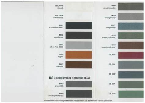 Stahl Lackieren Farbe by Verf 252 Gbare Farben F 252 R Eine Lackierung Auf Feuerverzinktem