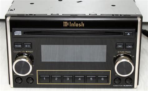 mcintosh car audio subaru mcintosh my