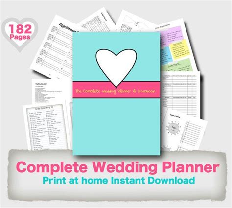 free printable wedding planner binder wedding planner binder printable evergreen wedding planner