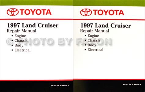 auto manual repair 2001 toyota land cruiser instrument cluster 1992 toyota land cruiser factory service manual
