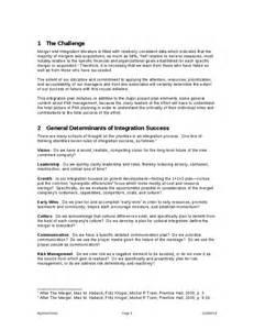 post merger integration plan template merger integration plan hashdoc