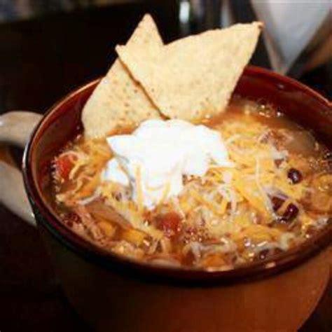 chicken tortilla crockpot soup yummy yummy pinterest