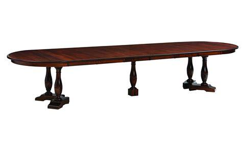 amish split pedestal table westfield split pedestal table amish direct furniture