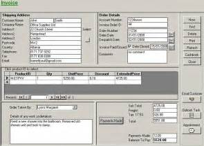 access invoice template free invoice example