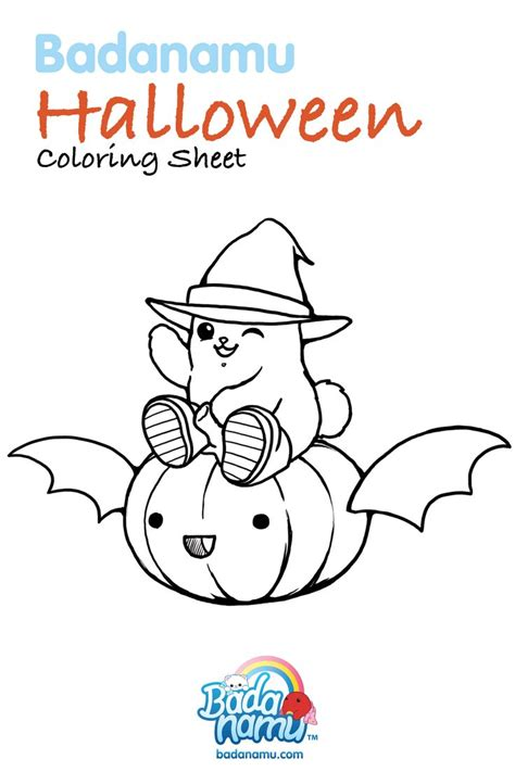 halloween coloring pages pre k badanamu halloween coloring sheet get your crayons ready