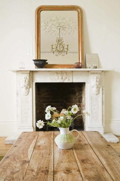 how to hang a large oversized mirror the mantle