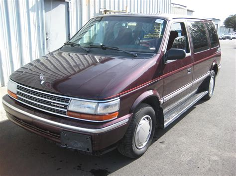 1993 plymouth voyager pictures information and specs