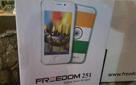 Smartphone Bell Freedom 251 ringing bells freedom 251 deliveries from june 30 here s what has happened so far the indian