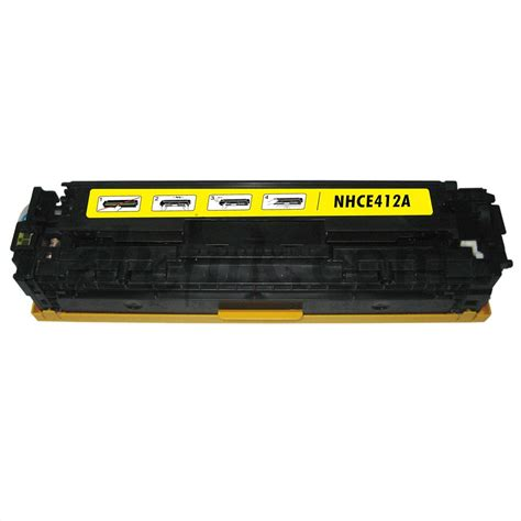 Toner Hp 305a Yellow hp ce412a 305a remanufactured yellow toner cartridge