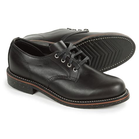 pictures of shoes for chippewa general utility service oxford shoes for