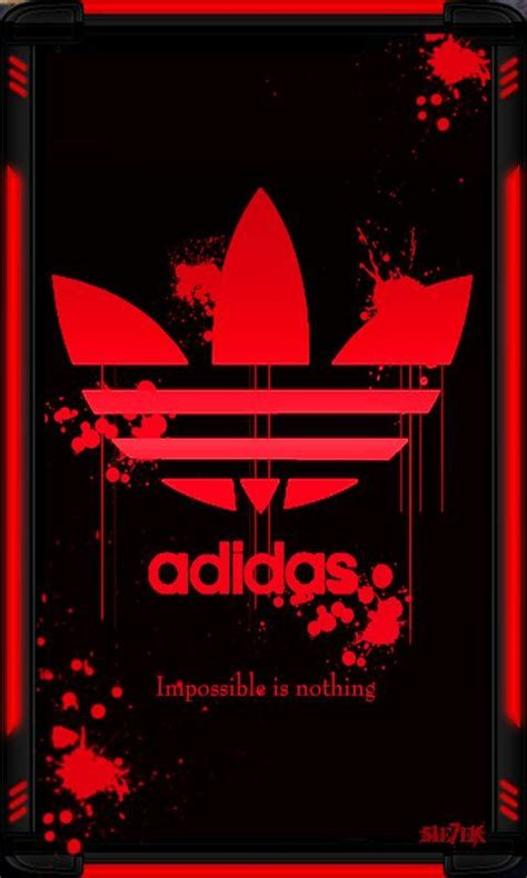adidas wallpaper red adidas logo red original hd wallpapers for iphone is a