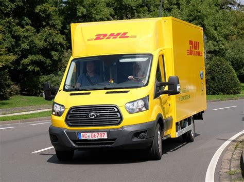Dhl Auto by Dhl Und Ford Stellen Elektro Transporter Streetscooter