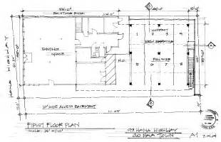 How To Draw Floor Plans By Hand 1st Floor Plan Hand Drawn Copy Gif