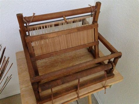table top loom creative with clay pottery by charan sachar knitting and now weaving