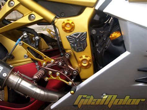 Anti Crash Jalu Knalpotslider Knalpot 250 pakai tangki model zx14 gilamotor