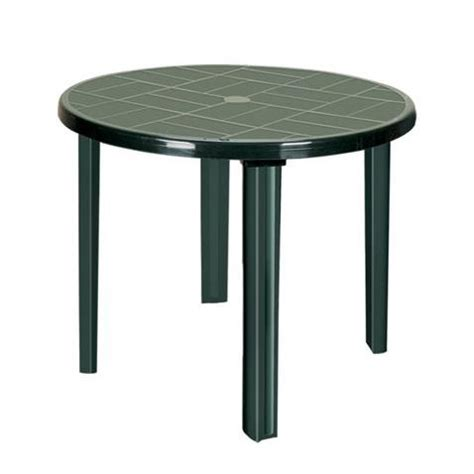 Green Plastic Patio Table Green Plastic Outdoor Table With Four Legs Irak Plastik San Tic A S Globalpiyasa