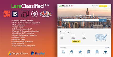 laravel mandrill tutorial download laraclassified geo classified ads cms 4 5