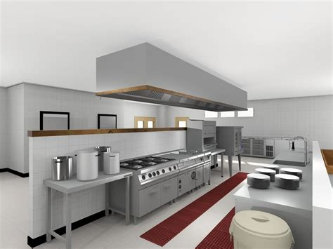 Commercial Kitchen Dallas by Industrie K 252 Che Design Mit Waschbecken Und K 252 Che Kabinett