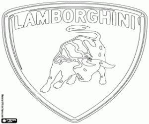 lamborghini logo sketch lamborghini logo coloring pages