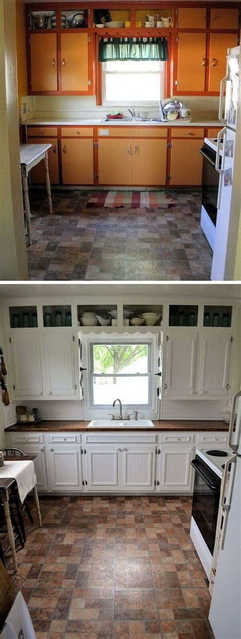 kitchen cabinets makeover ideas 25 before and after budget kitchen makeover