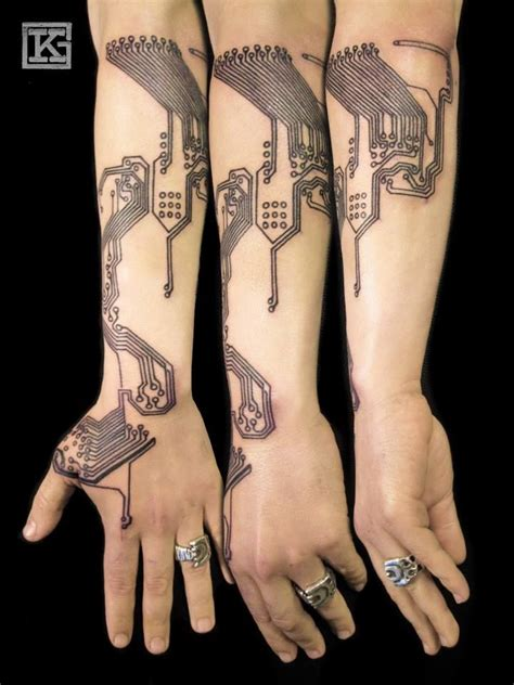 circuitry tattoo 31 best circuitry tats images images on