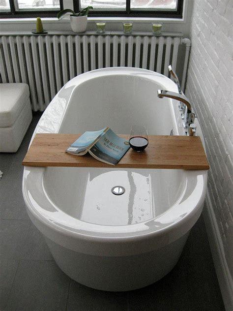 bathtub caddy wood wood bath tub caddy platter tray of from