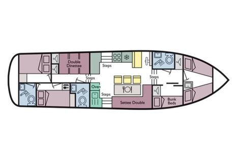 sailboat floor plans acapulco richardson s boating holidays