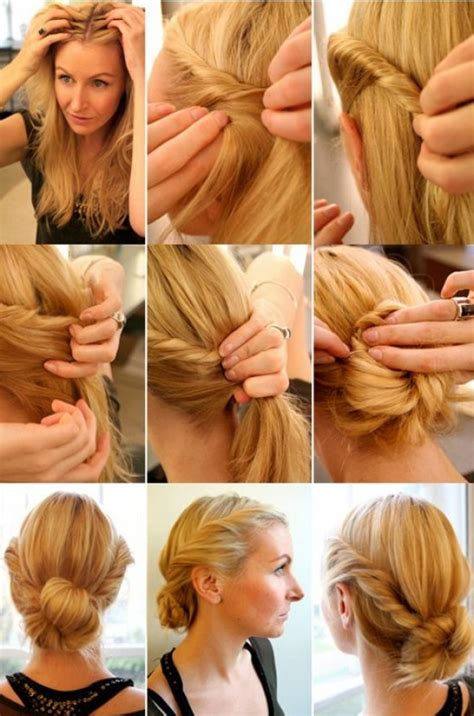 Step By Step Twist Hairstyles | elegant twist hairstyle step by step tutorial trend vogue