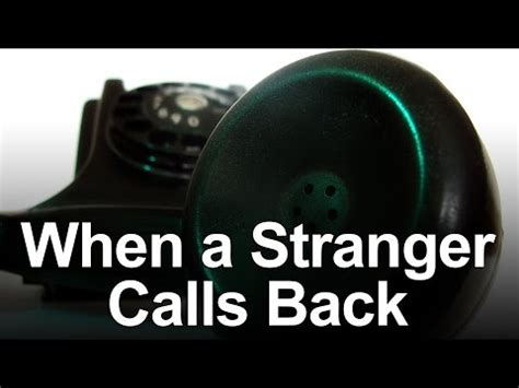 when a stranger calls back when a stranger calls back