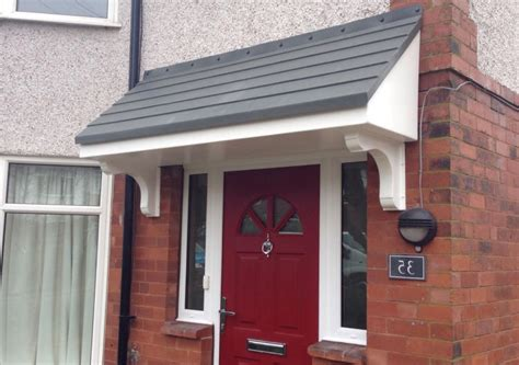awnings over doors over door canopies fitted in nottingham newark mansfield