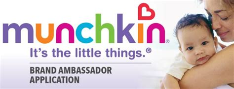 Brand Ambassadors Quiz Mba by Apply To Be A Munchkin Brand Ambassador Free Products To