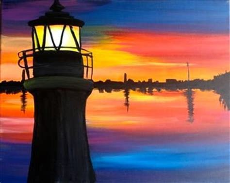 paint with a twist tallahassee fl dusk at the lighthouse tallahassee fl painting class