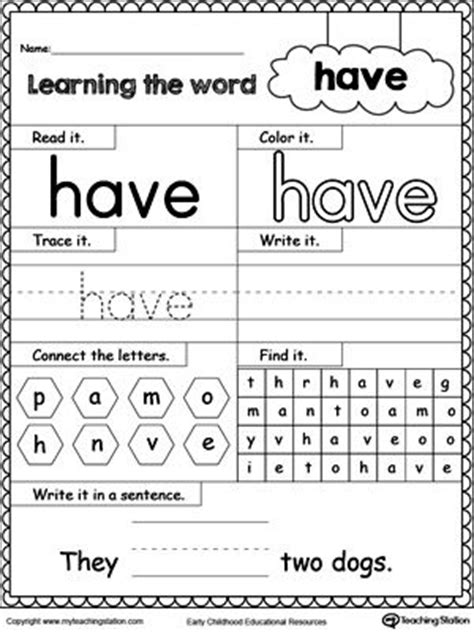 they say i say templates answers 25 best ideas about sight word worksheets on