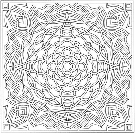 complex coloring page designs complex coloring pages for adults free printable