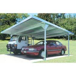 Bunnings Car Port Absco Sheds 5 5 X 2 25 X 5 5m Zincalume Skillion Roof