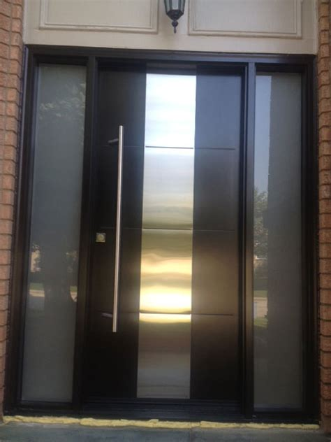 exterior front doors   impression   house