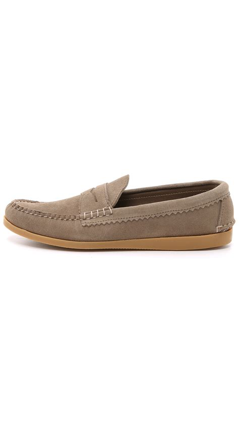 quoddy loafers quoddy true loafer shoes in brown for lyst