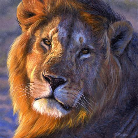 Lion Print Lion Original Paintings And Limited Edition Giclee Prints