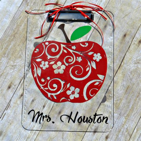personalized teacher clipboard gift for teacher teacher