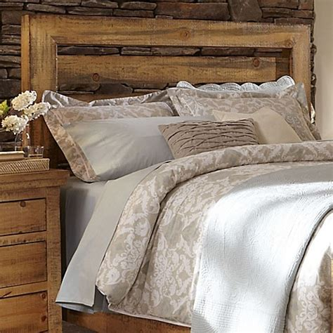 distressed king headboard buy willow king slat headboard in distressed pine from bed