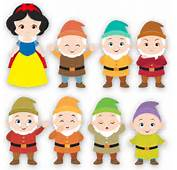 Stickers For Kids Kit Snow White And Seven Dwarfs