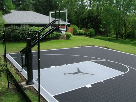 how much does a backyard basketball court cost how much does a outside basketball court cost home