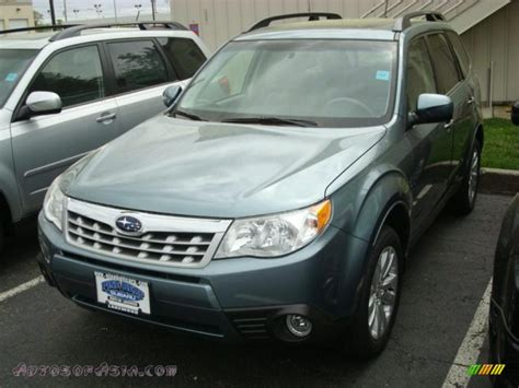 subaru sage green 2011 subaru forester 2 5 x limited in sage green metallic